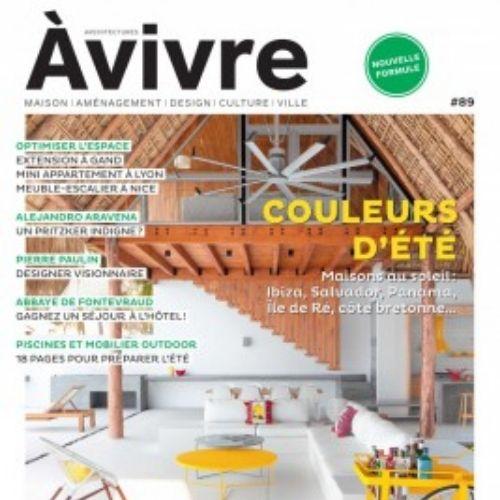 Architectures à vivre (revue)   Justman, Eric. Directeur de publication