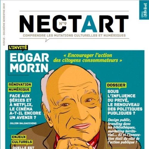 NECTART (revue) : Nouveaux enjeux dans la culture, transformations artistiques et révolution technologique  