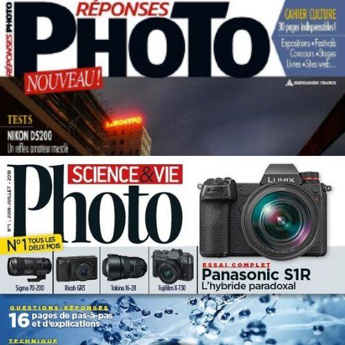 Réponses photo (revue) : Numérique-Argentique-Pratique-Esthétique | Roy de Puyfontaine, Arnaud. Éditeur scientifique