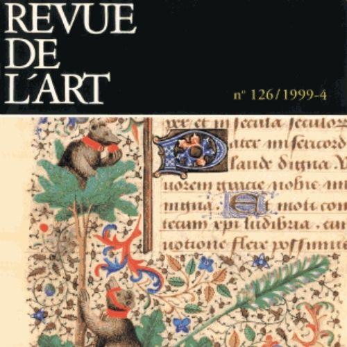 Revue de l'art (revue) | Legentil-Galan, Monique. Éditeur scientifique