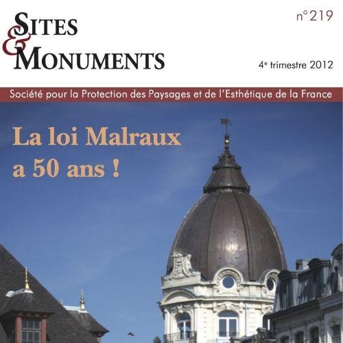 Sites et monuments (revue)   Albrecht, Paule. Éditeur scientifique