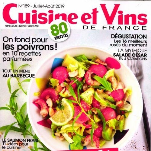 Cuisine et vins de France (revue) | Prouvost-Berry, Evelyne. Metteur en scène ou réalisateur