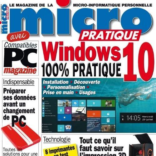 Micro pratique (revue) : Le magazine de la micro-informatique personnelle | Casanovas, Patrick. Éditeur scientifique