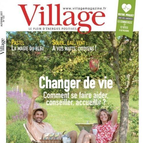 Village (revue) : Le plein d'énergies positives | Le Calvez, Sylvie. Éditeur scientifique