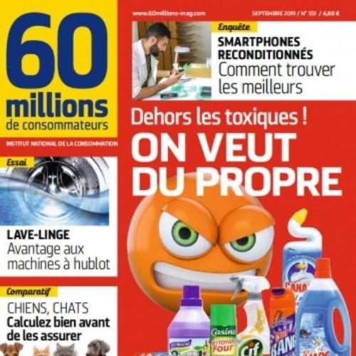 60 millions de consommateurs : (revue) | Deby, Marc. Éditeur scientifique