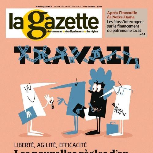 La Gazette des communes, des départements, des régions (revue)   Ajac, Bernard. Éditeur scientifique