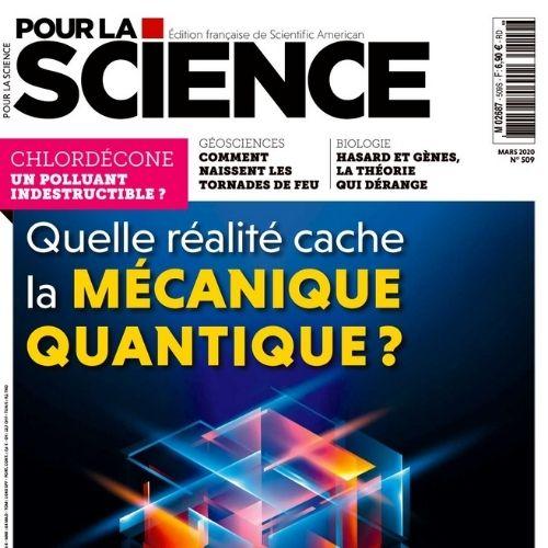 Pour la science (revue)   Brossollet, Olivier. Éditeur scientifique