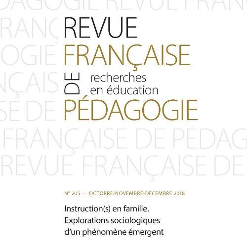 Revue française de pédagogie : recherches en éducation | Faron, Olivier. Directeur de publication