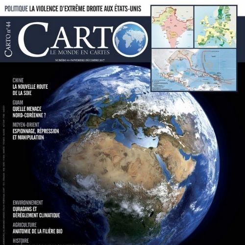 Carto (revue) : le monde en cartes |
