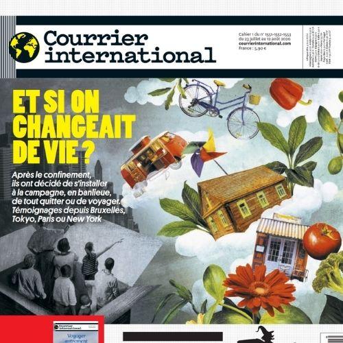 Courrier international (revue) | Dufour, Damien. Éditeur scientifique