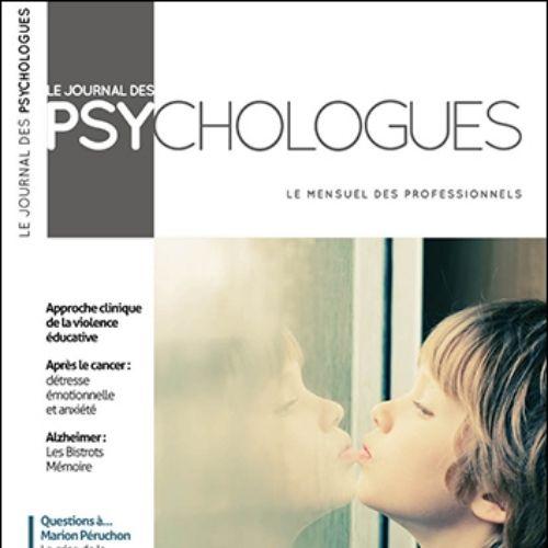 Le Journal des psychologues (revue) | Martin, René-Louis. Éditeur scientifique