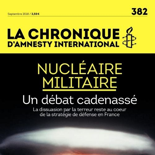 La chronique (revue) : Le mensuel d'Amnesty international : France | Amnesty international. Auteur
