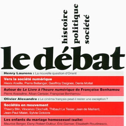 Le débat (revue) : Histoire, politique, société | Nora, Pierre. Éditeur scientifique