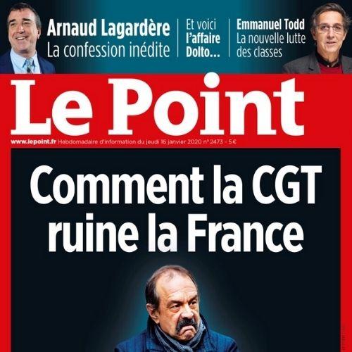 Le Point (revue) | Wouts, Bernard. Éditeur scientifique