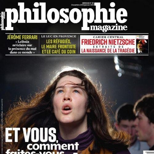 Philosophie magazine (revue)   Gerschel, Fabrice. Directeur de publication