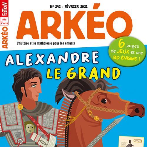 Arkéo (revue) : L'histoire et la mythologie pour les enfants | Fabre-Faton, Pierrette. Metteur en scène ou réalisateur
