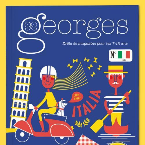 Georges (revue) : Drôle de magazine pour enfants | Schwebel, Anne-Bénédicte. Directeur de publication