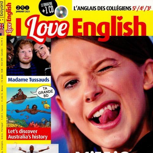 I love english (revue) : L'anglais des collègiens 5e/4e/3e   Bezombes, Anne-Marie de. Metteur en scène ou réalisateur
