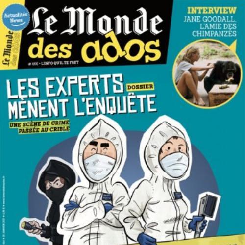 Le monde des ados (revue) | Langre, Hervé de. Éditeur scientifique