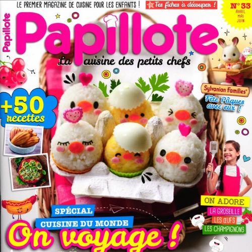 Papillote (revue) : la cuisine des petits chefs | Lebon, Jean-Claude. Directeur de publication