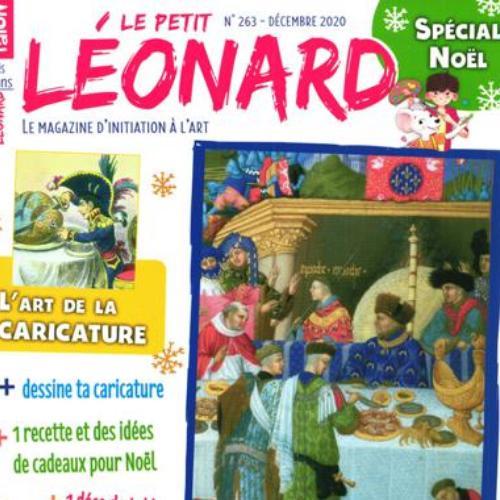Le Petit Léonard (revue) : le magazine d'art des plus de 7 ans | Faton-Boyancé, Jeanne. Metteur en scène ou réalisateur