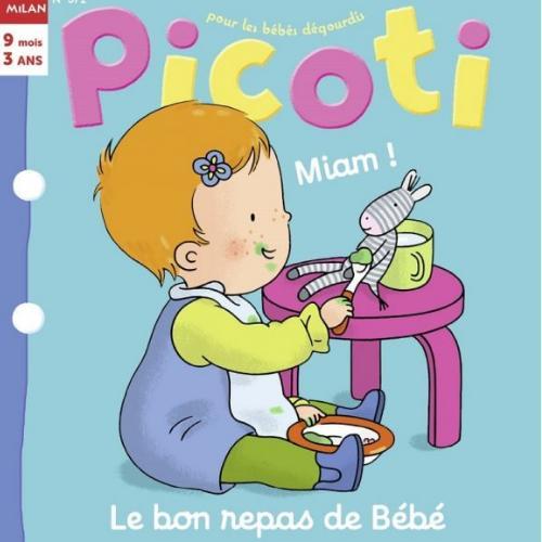 Picoti (revue) : Pour les bébés dégourdis | Bélard, Emilie. Directeur de publication