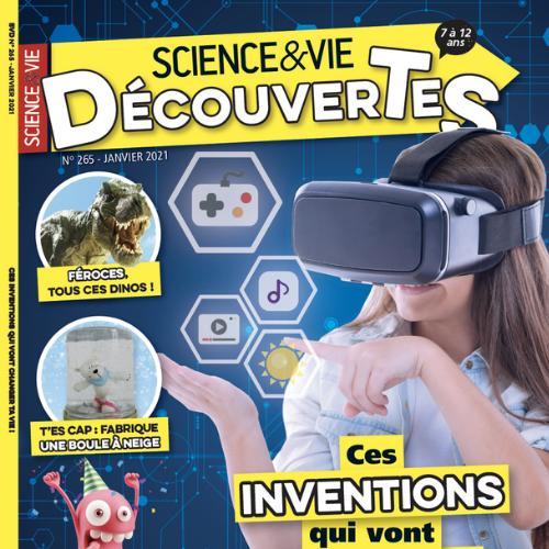 Science & Vie découvertes (revue) : 7 à 12 ans  