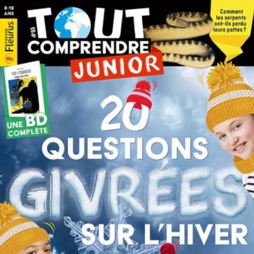 Tout comprendre Junior (revue) | Jean-Martial Lefranc. Directeur de publication