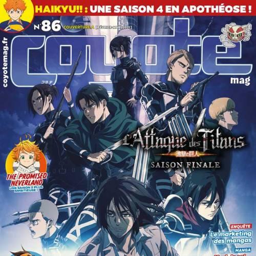 Coyote mag (revue) : Manga - Anime - Musique - Cinéma - Asian culture - Jeu vidéo | Maksymowicz, Thomas. Directeur de publication