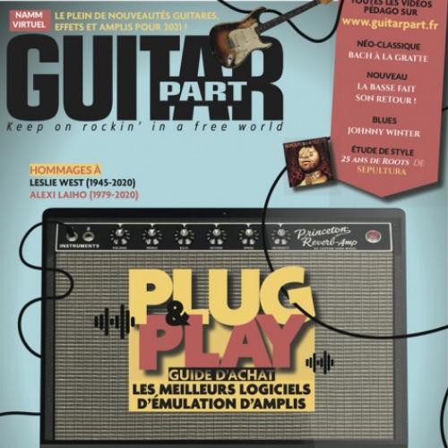 Guitar part (revue) : partitions pour guitares et basses | Febourg , Thierry. Directeur de publication