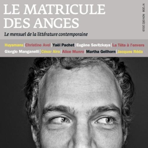 Le Matricule des anges (revue)  | Guichard, Thierry. Éditeur scientifique