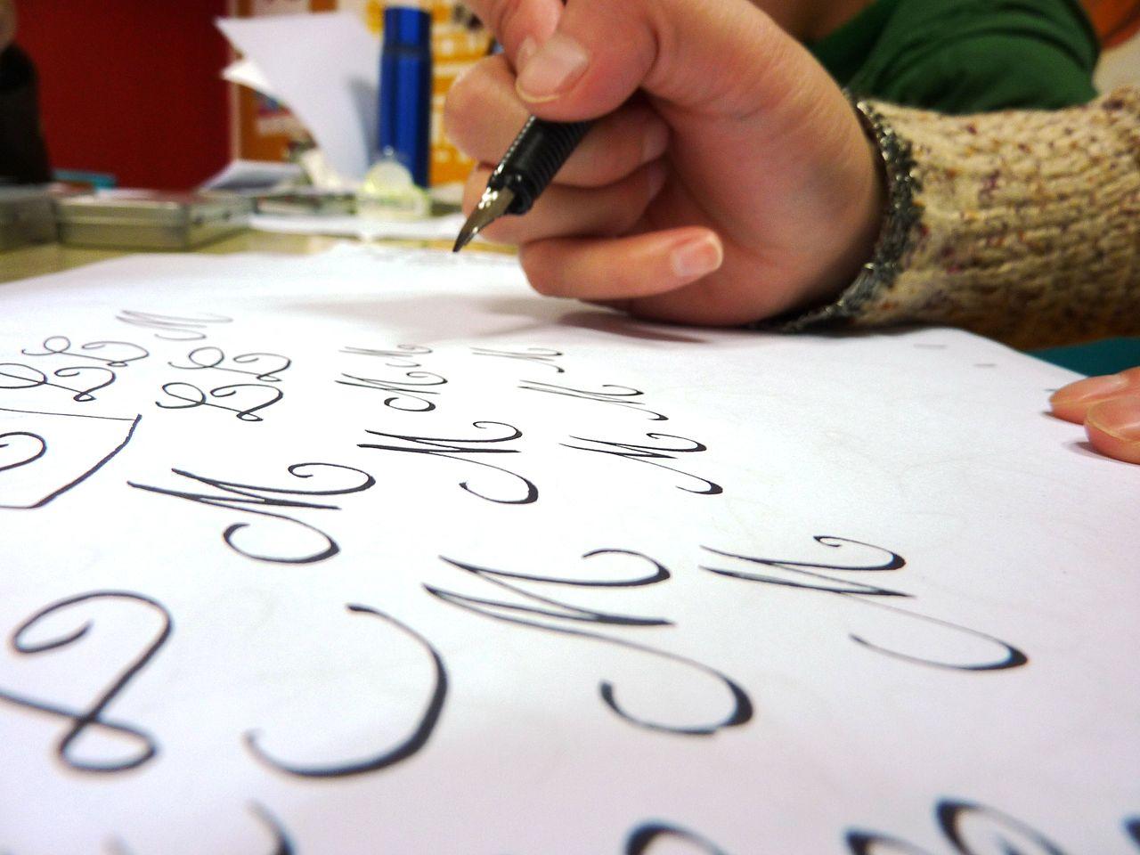 Atelier médiéval : calligraphie - à partir de 8 ans  