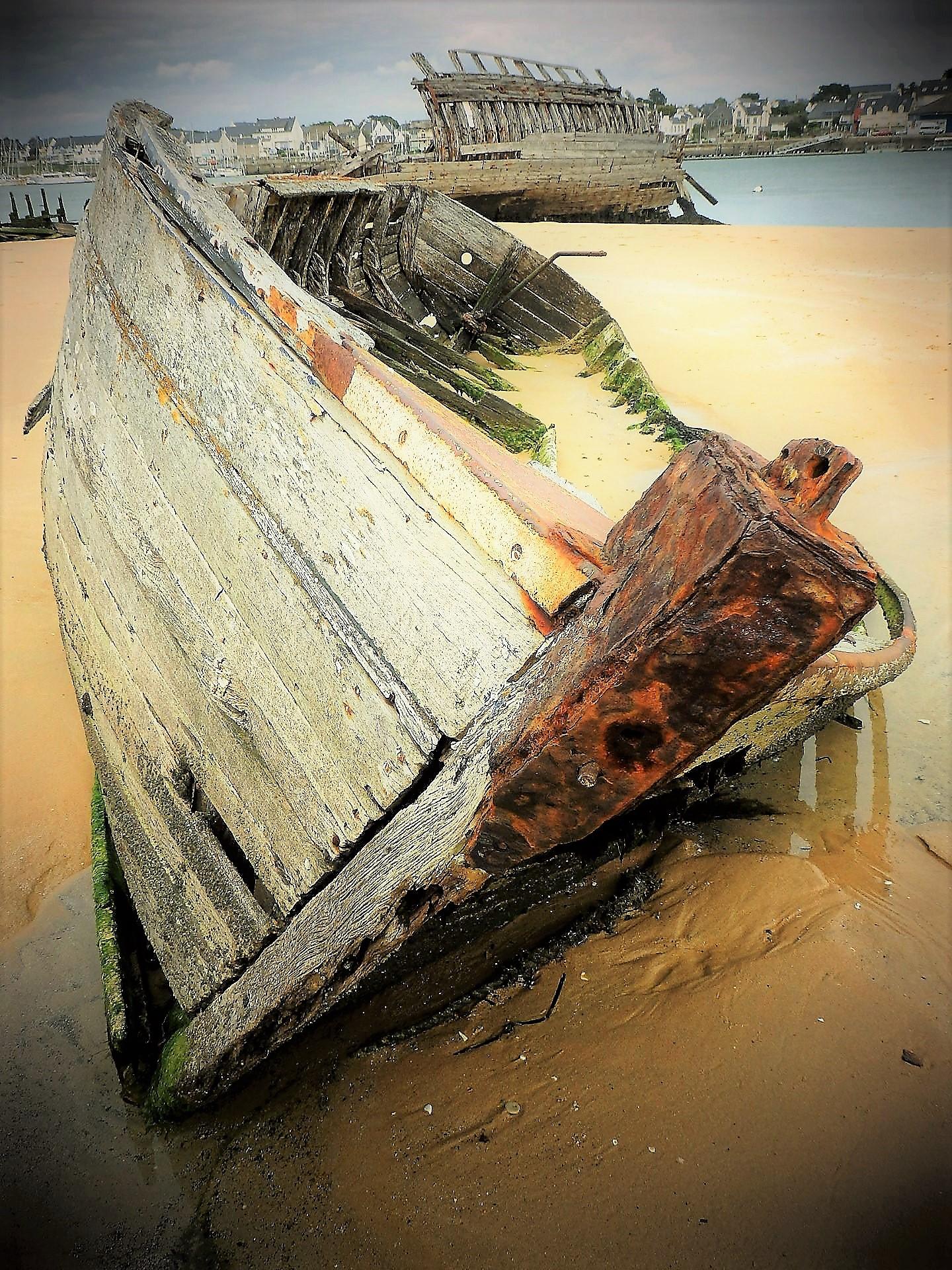 L'ankou marin, bateaux en perdition |
