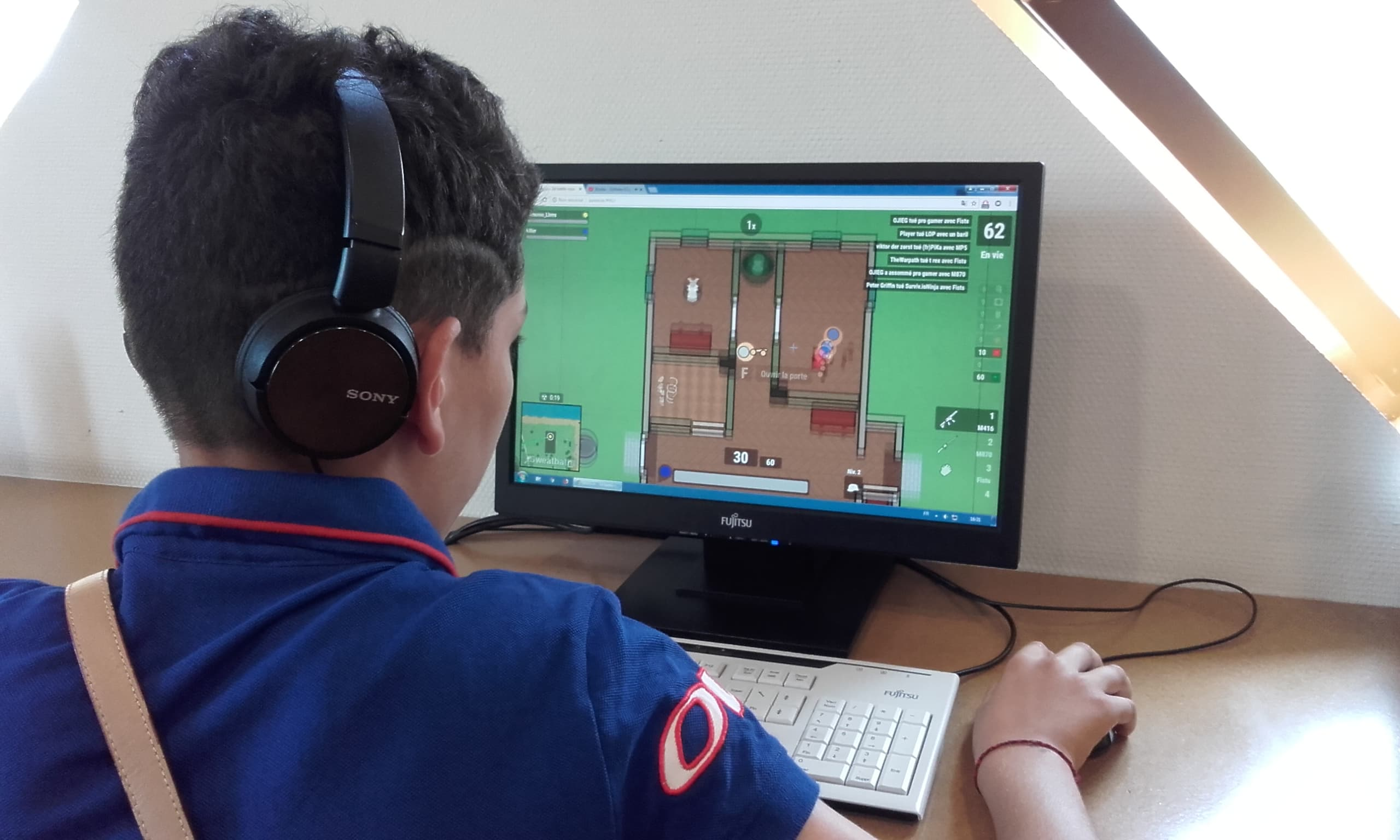 Le coin des gameurs sur PC - à partir de 12 ans |