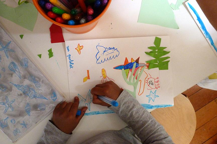 Atelier créatif avec Sarah Cheveau - de 4 à 7 ans  