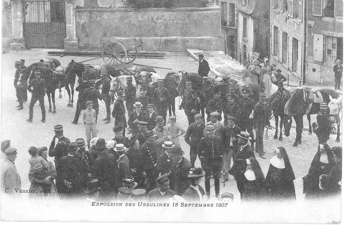 Expulsion des Ursulines, octobre 1907