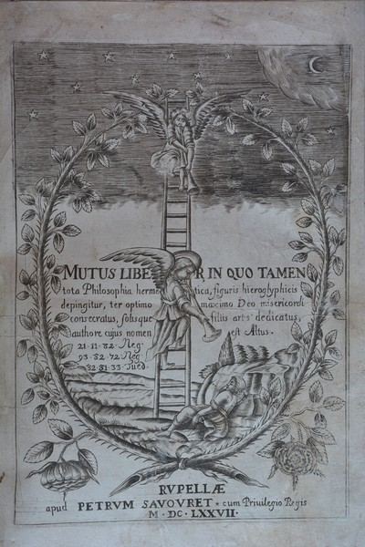 Isaac Baulot, Mutus Liber, La Rochelle - 1677, Collection particulière