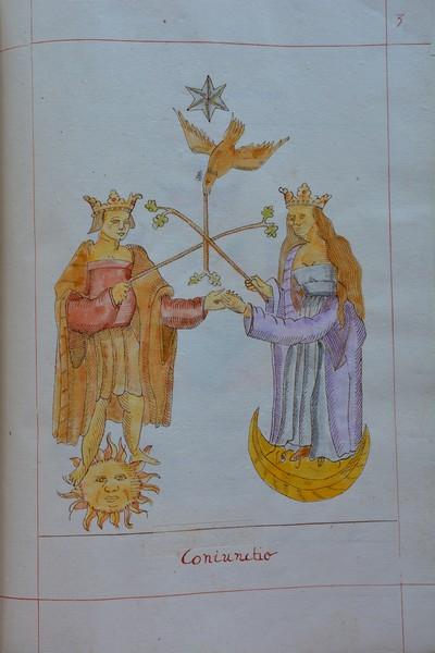 Rosarium Philosophorum, Copie XXe siècle d'un manuscrit du XVII°S, Collection particulière